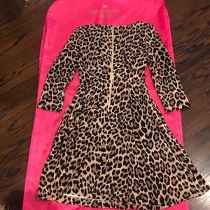 kate spade Dresses - Kate Spade Leopard fit and flare dress
